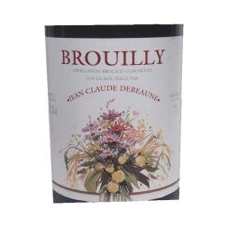 Brouilly J.C. Debeaune 2009 rouge 0,75L