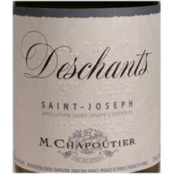 Saint-Joseph Deschants Chapoutier blanc 2008 0,75L