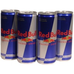 Red Bull Energy Drink 4x25cl 1L