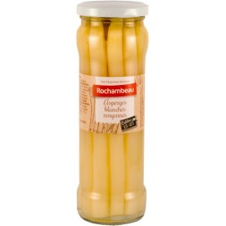 Asperges blanches Rochambeau - bocal verre  330g