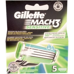 Gillette Mach3 Sensitive - recharges  5U