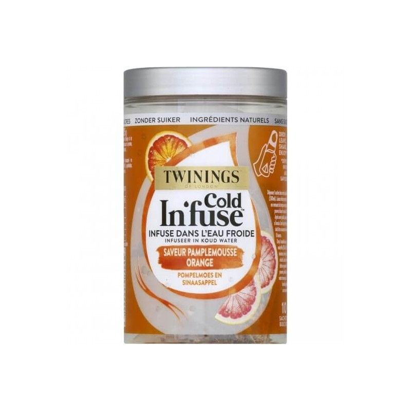 Twining Cold In'fuse Pamplemousse Orange - 10 sachets