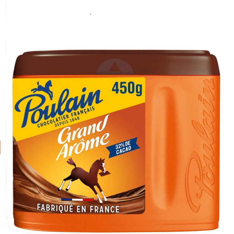 Poulain Grand Arôme powder chocolate 450g