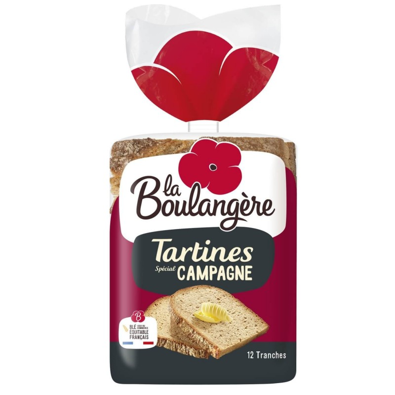 La Boulangère countryside bread sandwiches 250g