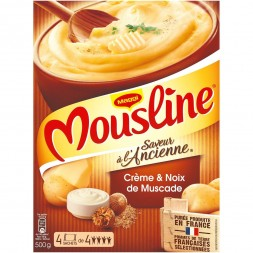 Mousline puree Old fashioned flavor - 4 sachets 500g