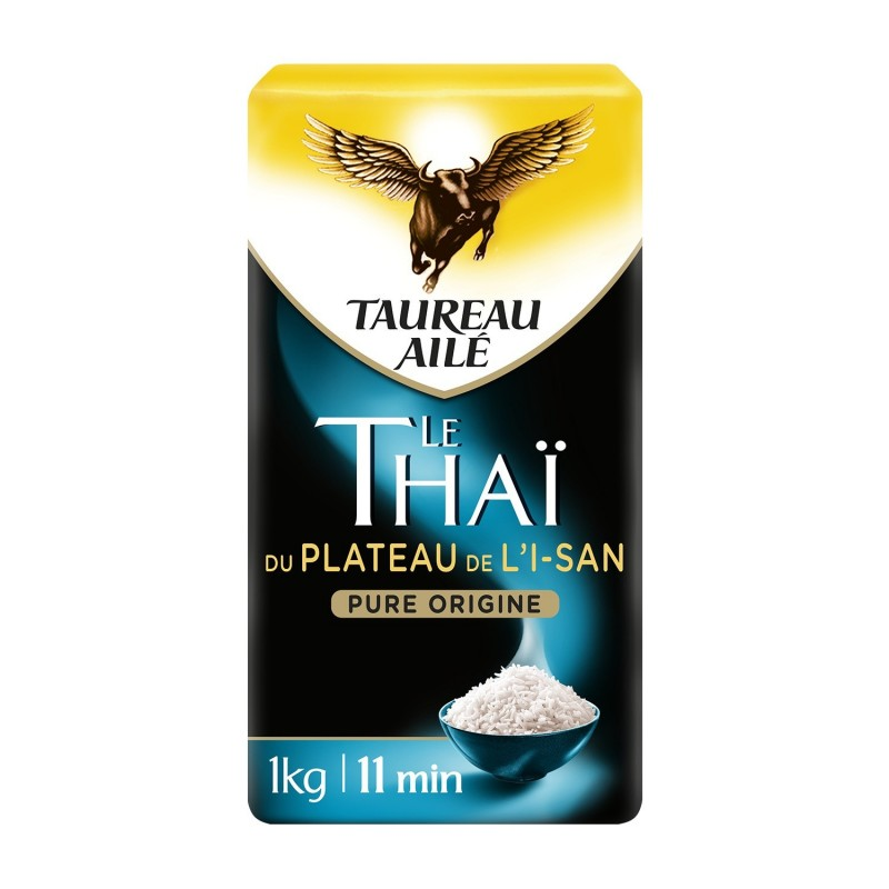 Riso Thai dell'Altopiano I-San Winged Bull 500g