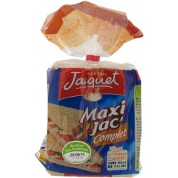 Jaquet wholemeal Maxi Jac sandwich bread 600g