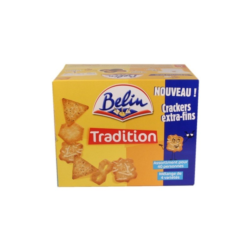 Crackers Tradition - assortiment sal