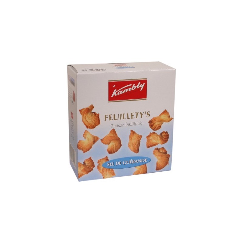 Feuillety s Salted puff pastry biscuits Sel de Gu