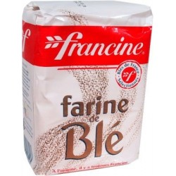 Wheat flour Francine All Uses type 45 1Kg