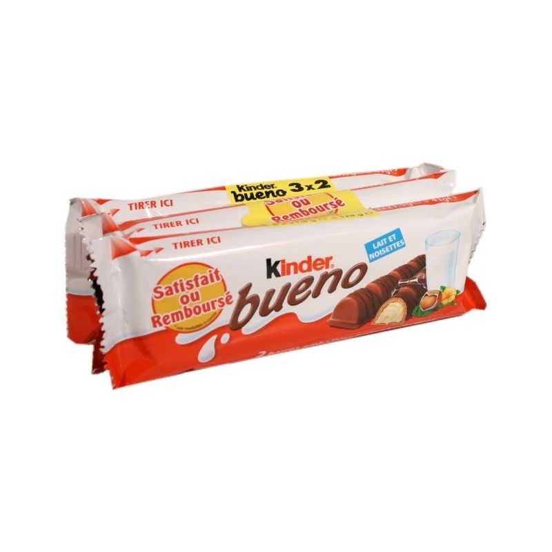 Kinder Bueno - 6x2 filled wafers