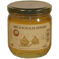 Naturalim Liquid Hungarian Acacia Honey - 500g glass jar