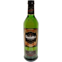 Glenfiddich Highlands Speyside 12 ans pure Malt 0,7L