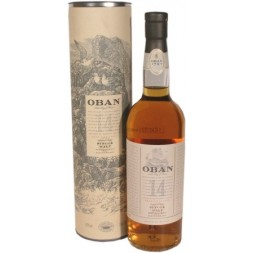 Whisky OBAN 43° single malt .7L