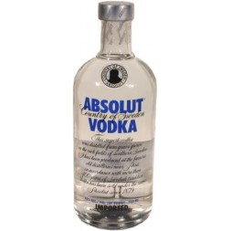 Absolut Vodka  Suède  40° 0,7L
