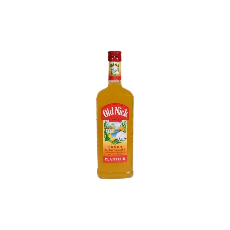 Old Nick Planteur Orange-punch au vieux rhum ambr