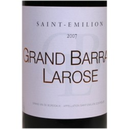 Saint-Emilion Grand Barrail Larose rouge 0,75L
