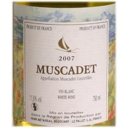Muscadet Michel Laurent  2011 blanc  0,75L