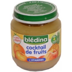 Cocktail de fruits Blédina 520g