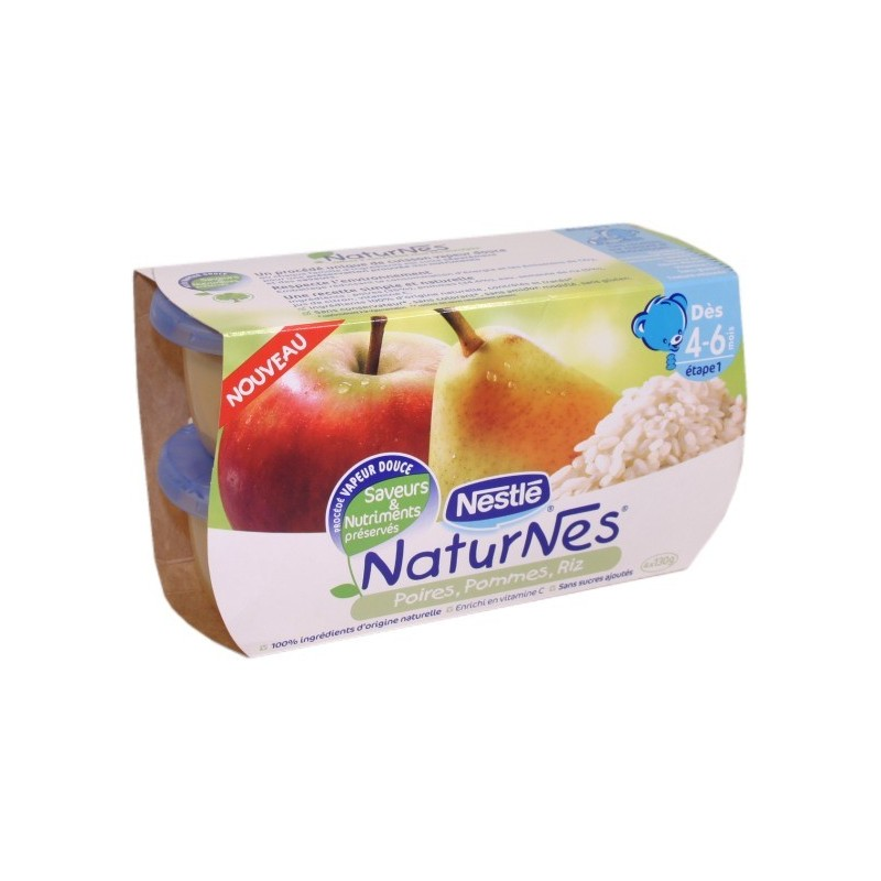 NaturNes Apples Pears Rice