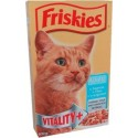 Friskies salmon, tuna and vegetables - dry catfood 400g
