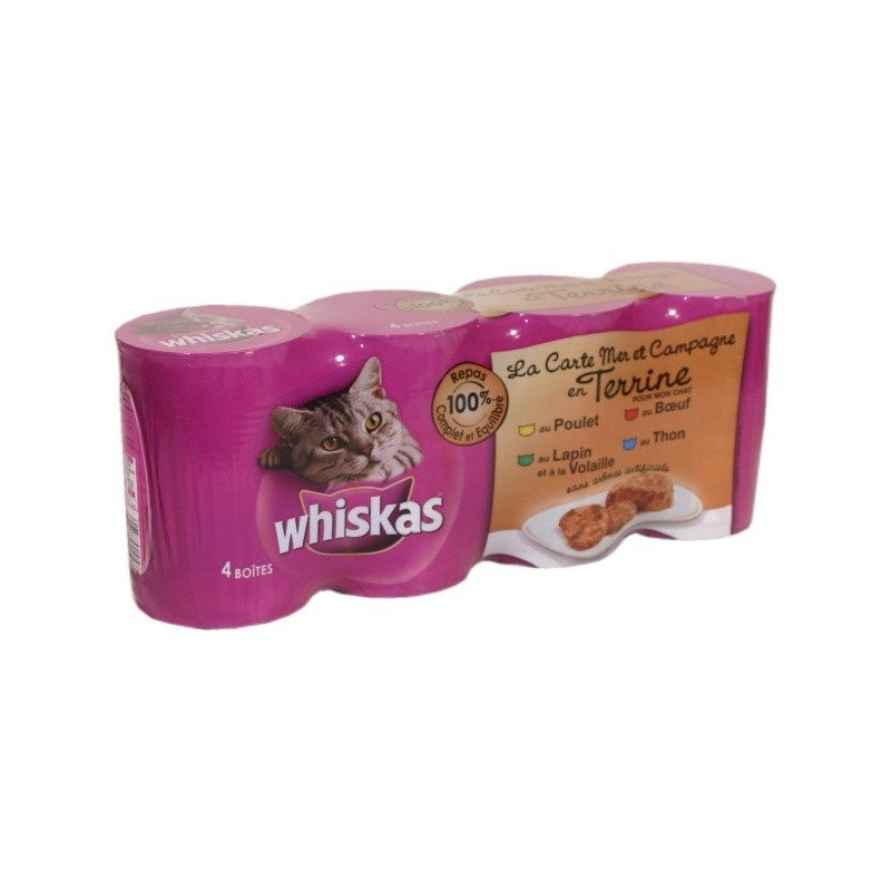 Whiskas Les Terrines