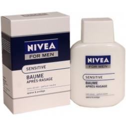 Nivea for Men Baume Sensitive Après Rasage sans alcool Peau sensible 100ml