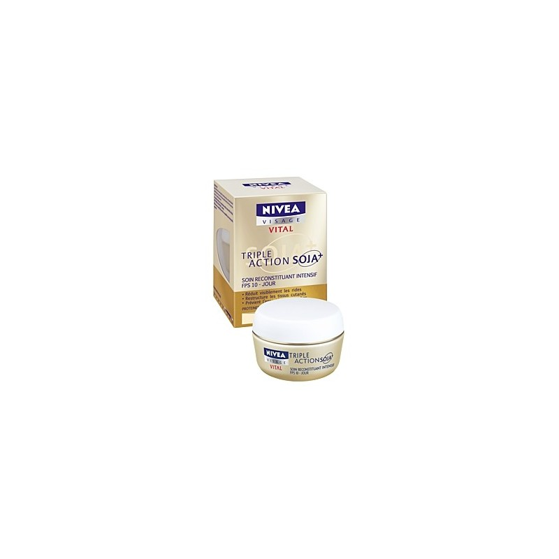 Nivea Vital Soin Intensif Triple Action Soja+ Jour - pot 50ml