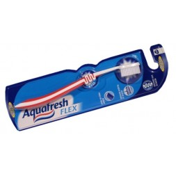 Brosse à dents Aquafresh Flex Protect médium 1U
