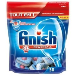 Finish Powerball Tout en 1 - pastilles 30U