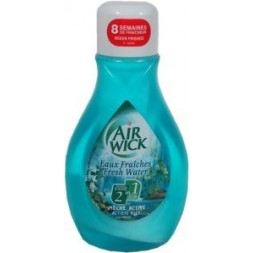 Air-Wick Mêche active 2 en 1 Eaux fraiches  1U