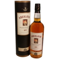 Aberlour Higlands  Speyside 10 ans single Malt 0,7L
