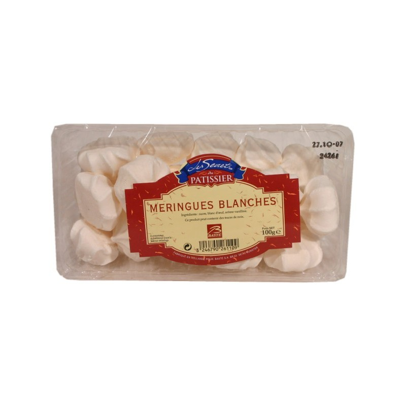 Meringues blanches x18 100g