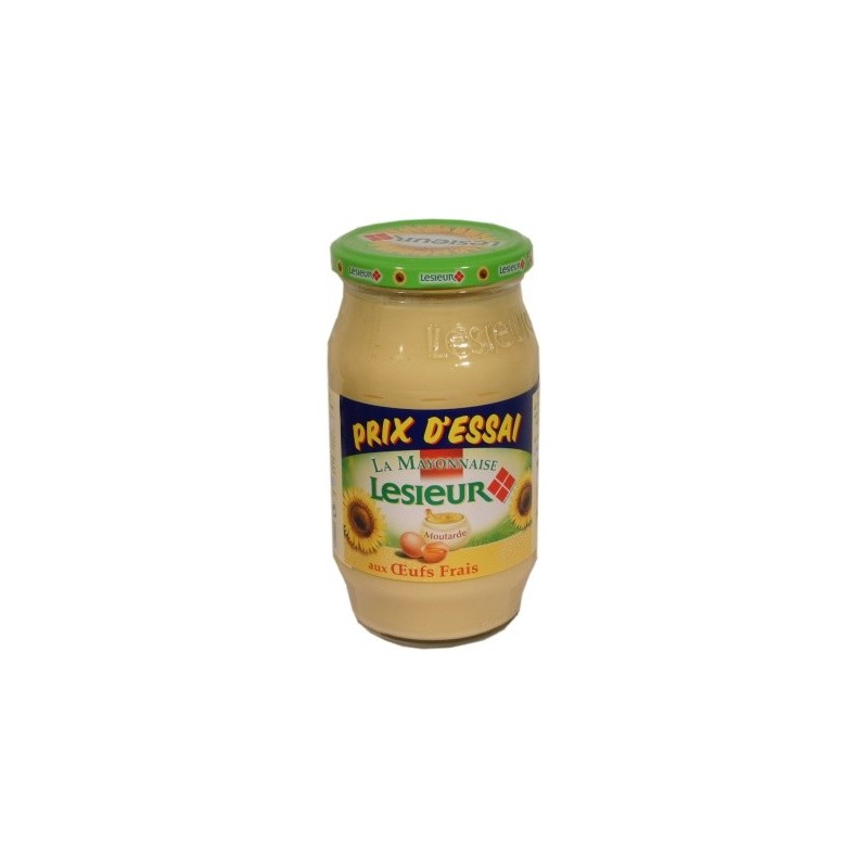 Mayonnaise Lesieur au tournesol - moyen bocal 475g