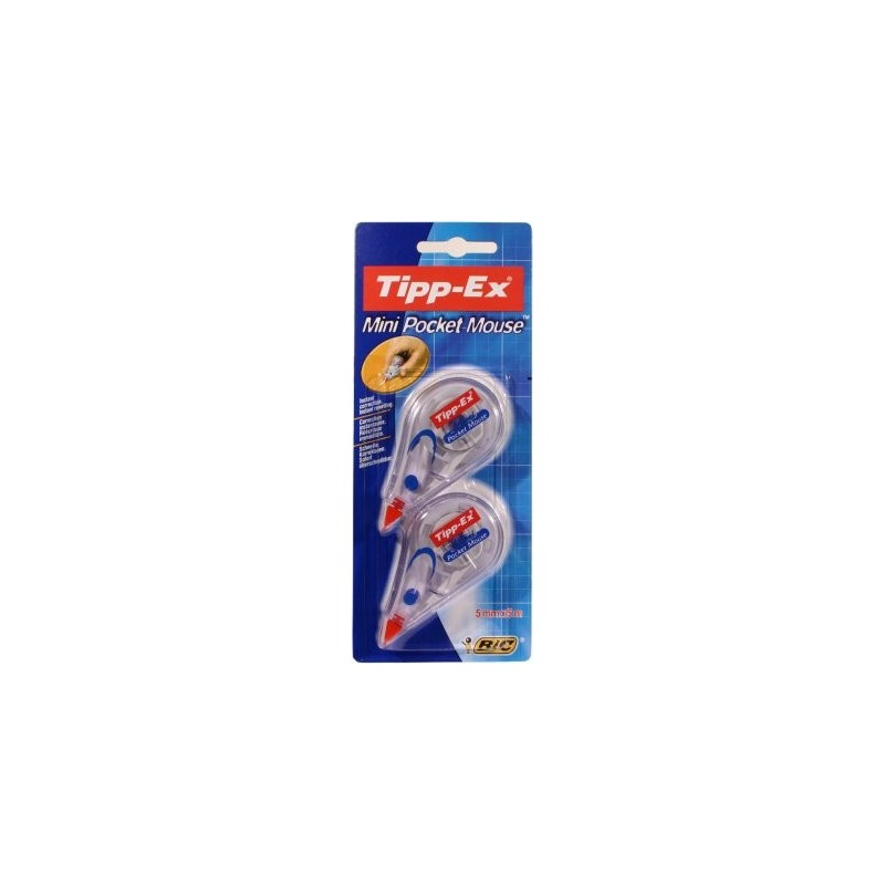 Mini Pocket Mouse Tipp-Ex correction instantan