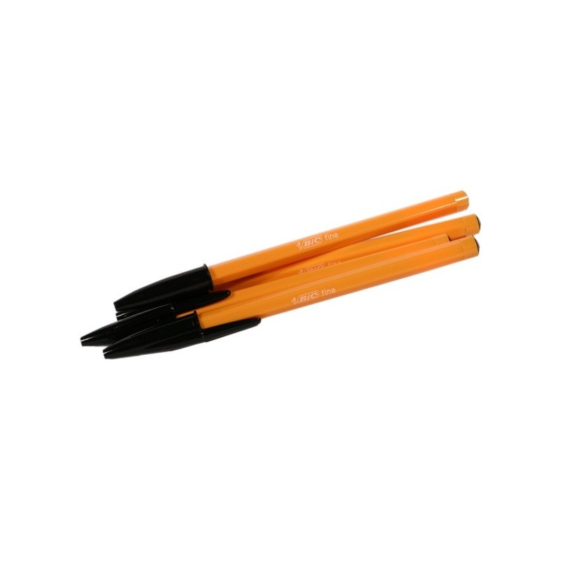 Stylos BiC Orange noirs 4U