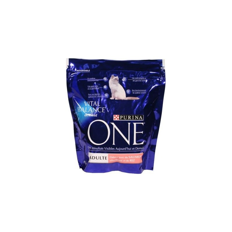 One Purina SAUMON avec du saumon s