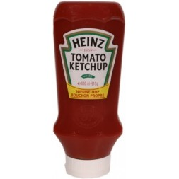 Heinz Tomato Ketchup - large plastic jar with clean cap 910g