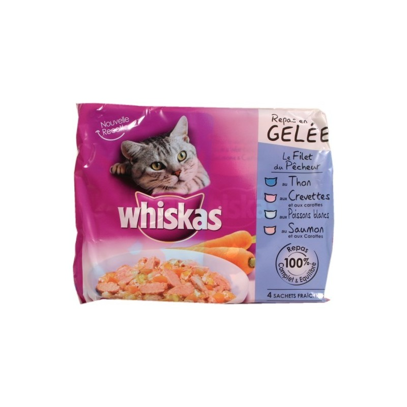 Sachets Whiskas Filet du P