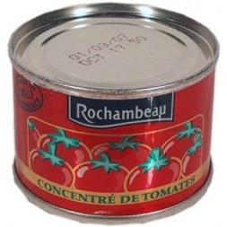 Double tomato concentrate 28% Rochambeau - can of 70g