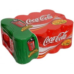 Coca-Cola Format Pocket mini-canettes 12x15 cl  1.8L