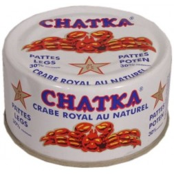 Crabe Chatka 30% pattes minimum 200g