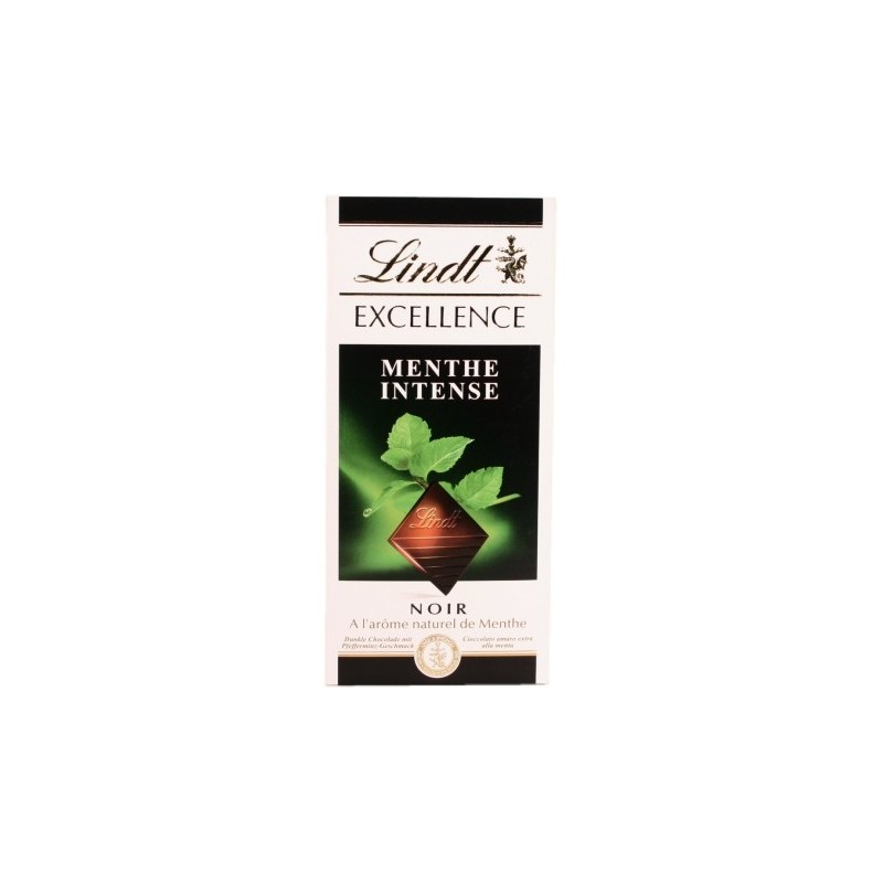 Lindt Excellence Intense Mint 100g