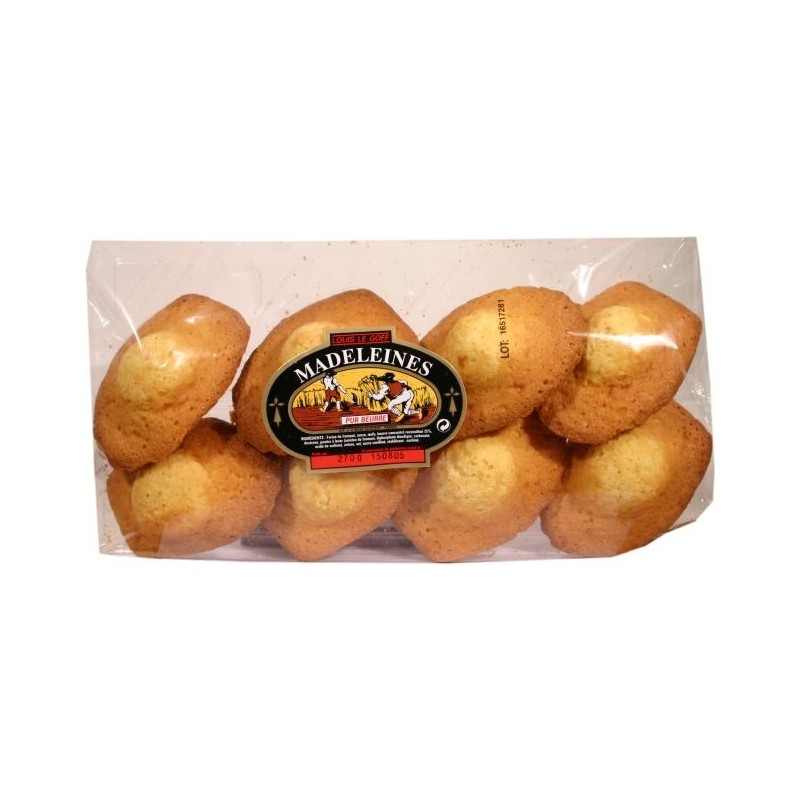 Madeleines pur beurre Louis Le Goff x8 270g