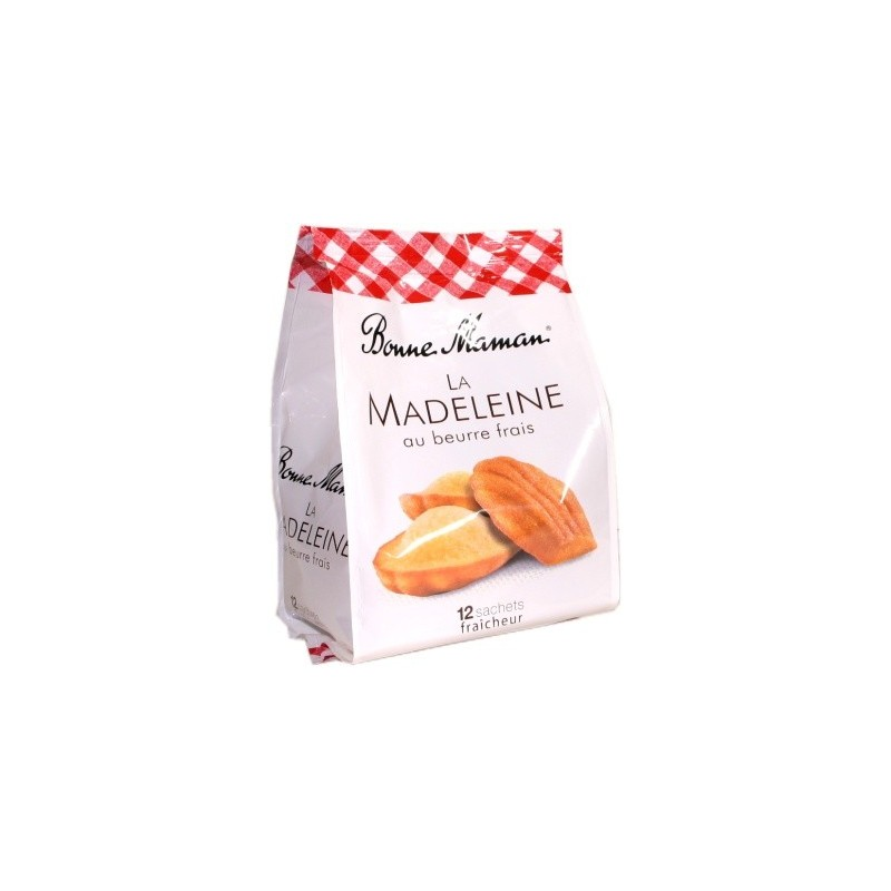Bonne Maman Madeleines with fresh butter x12 - individual packaging 300g