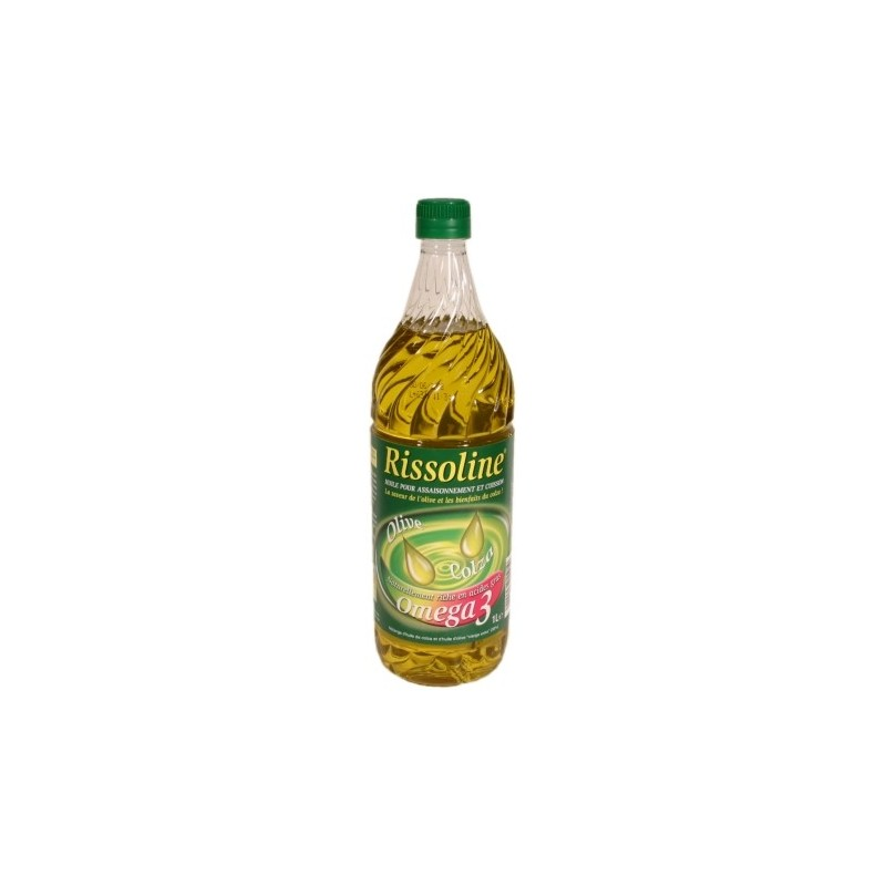 Rissoline Rapeseed Oil and Olive Oil 1L