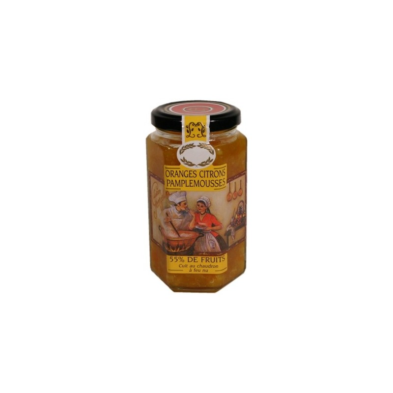 Lucien Georgelin Oranges Citrons Pamplemousses 300g