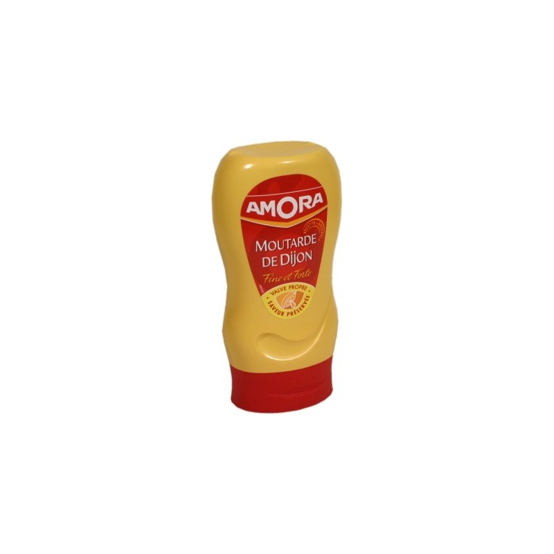 Fine and strong mustard Amora - flexible measuring cup 265g