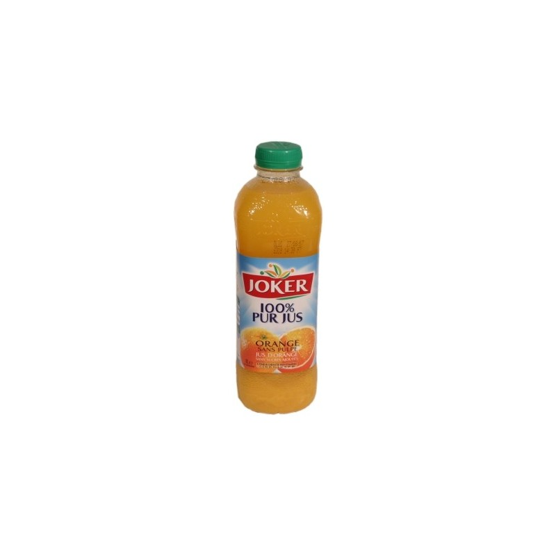 Joker jus d orange 100% jus de fruit 1L