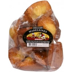 Louis Le Goff Pure Butter Madeleines - individual bags x13 440g